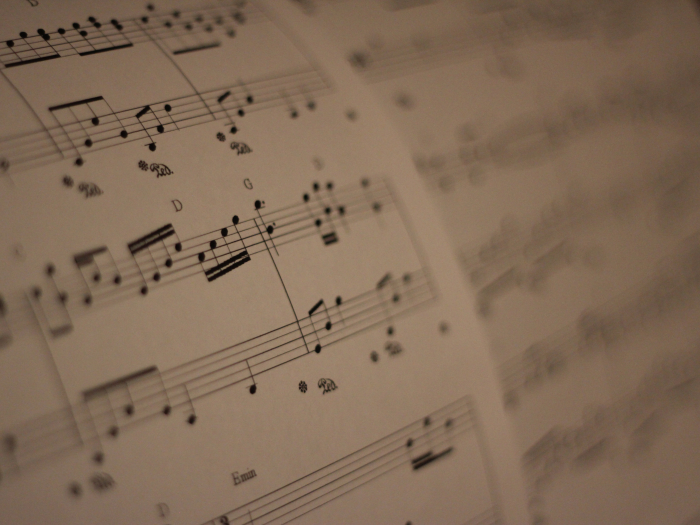 sheet music, entertainment